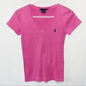 Ralph Lauren Sport V-Neck Short Sleeve T-Shirt